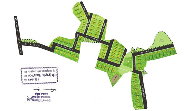 Layout Map The Urban Village